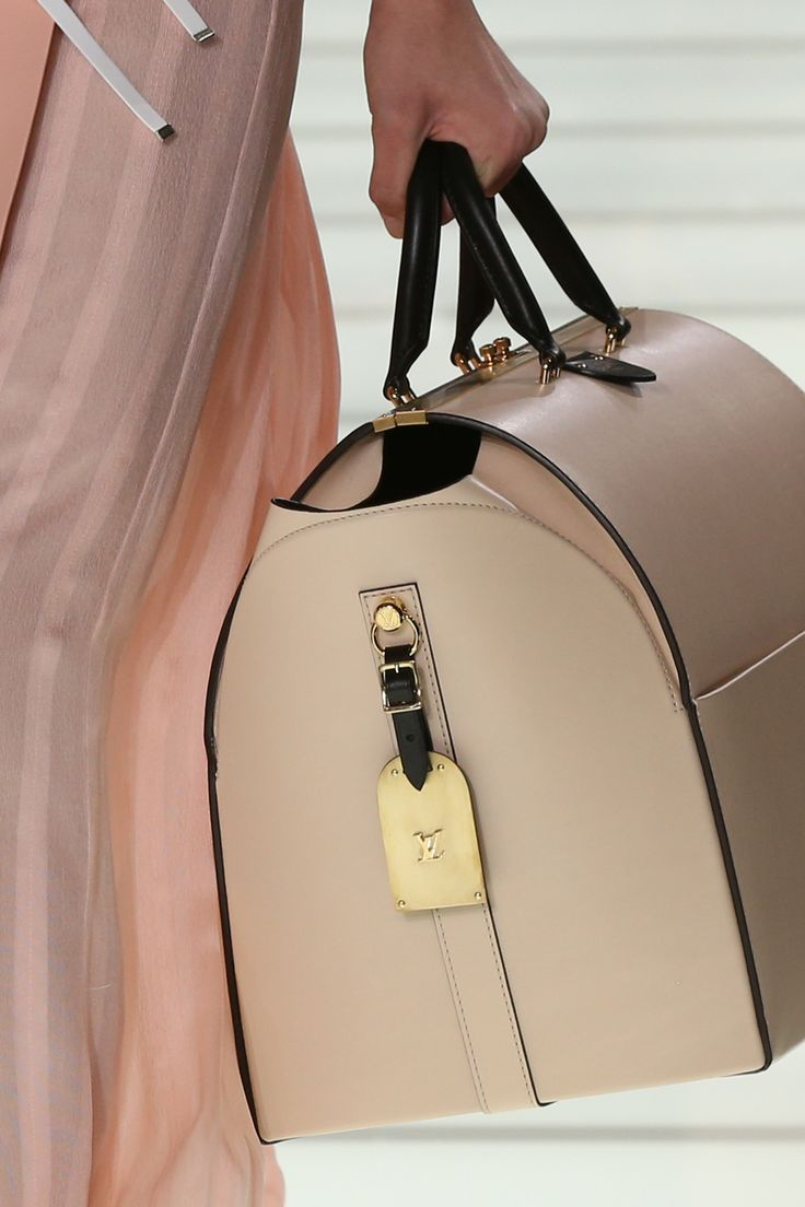 A bag from the Louis Vuitton Spring-Summer 2018 Show by Nicolas Ghesquiere. Watch the show now at louisvuitton.com.