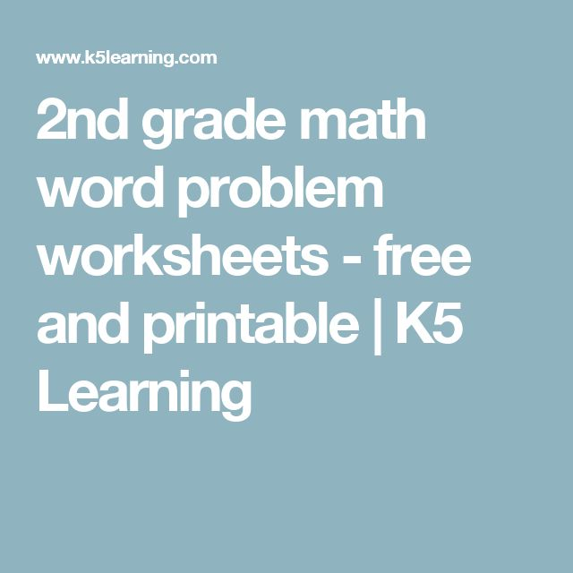 Printables K5 Learning Grade 2 Math Story Sums Measurement 1000 images about 2nd grade math on pinterest facts student and place values