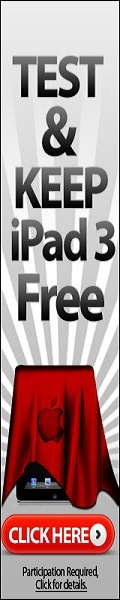 Rewards That Are Awesome - Test and Keep an IPad 3