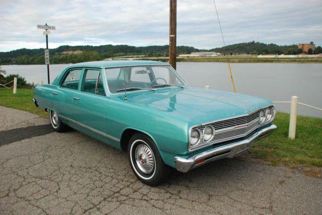 1965 Chevrolet Malibu Base Sedan 4 Door 1 Chevrolet Malibu Chevrolet Sedan