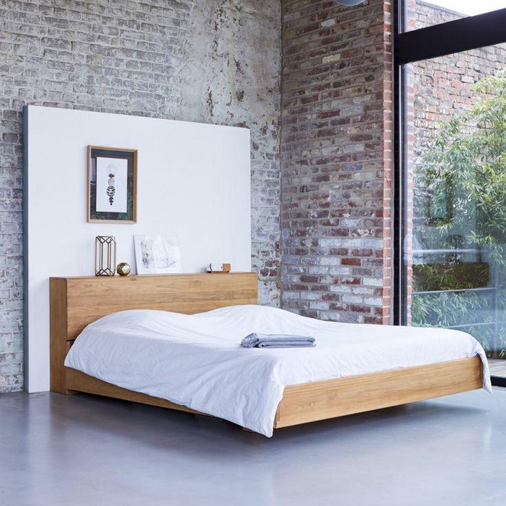 Schlafzimmer Bett 160x200. bett wildeiche 160x200 natur geölt ben ...