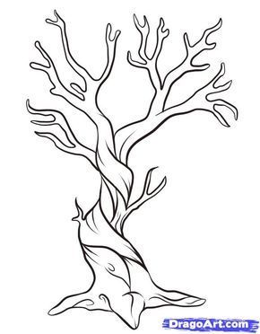 How To Draw A Tree Narrated Step By