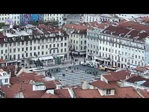 ▶ Portugal - Im Zentrum von Lissabon - YouTube