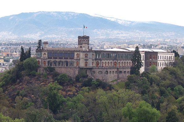 Castillo de Chapultepec – Mexico.  Fui a conocerlo durante un tiempo que estuve trabajando en México. (LAG).