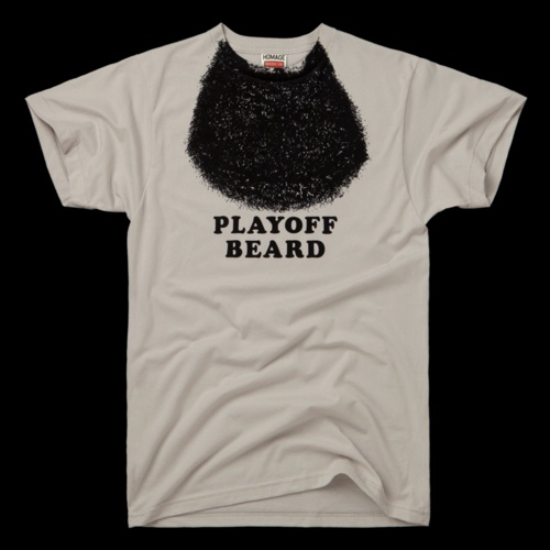 playoff beard, for those of us who can't grow facial hair..