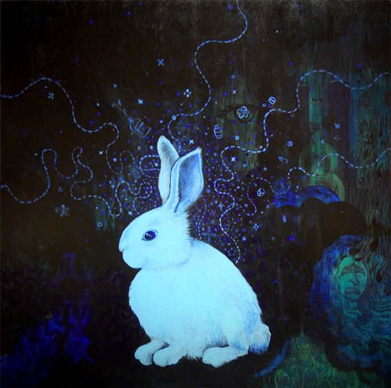 """The Blue Bunny"" by Rachael Lester"
