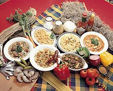 Louisiana Creole cuisine is a style of cooking originating in Louisiana, United States which blends French, Spanish, Portuguese, Italian, Native American, and African influences,[1] as well as general Southern cuisine.