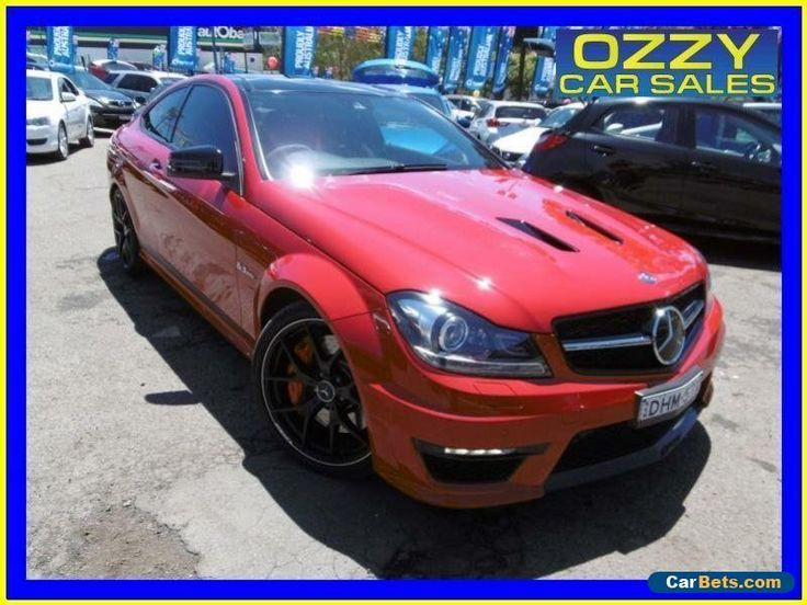 2015 Mercedes-Benz C63 W204 MY14 AMG Edition 507 Red Automatic 7sp A Coupe #mercedesbenz #c63 #forsale #australia
