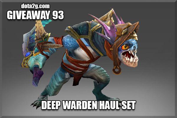 Giveaway 93 - Deep Warden Haul Set