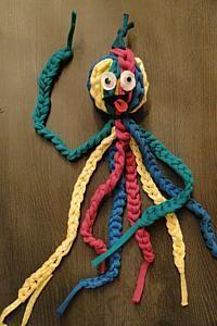 vingerhaak een octopus van Zpagetti