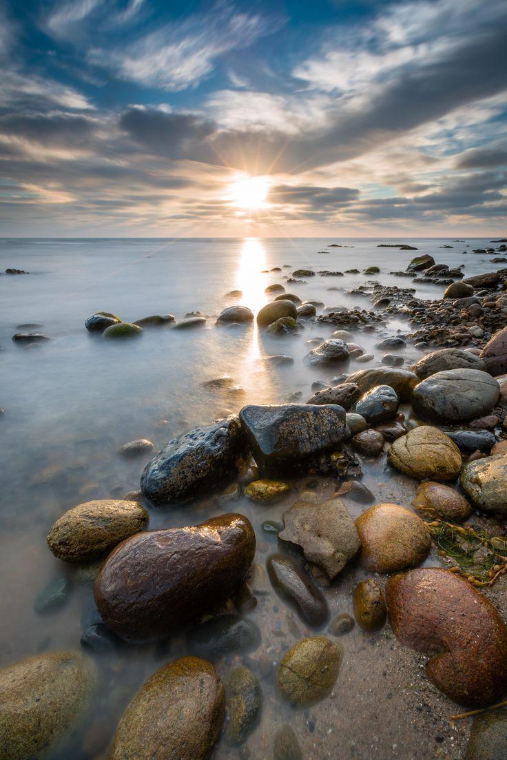 """Set In Stone"" [OC] 4802 X 7200 A long exposure single shot sunset at Tourmaline… – Mustafa"
