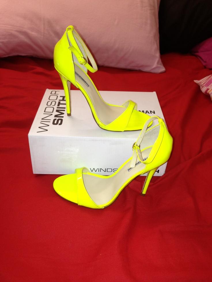 Windsor Smith Neon Yellow PT