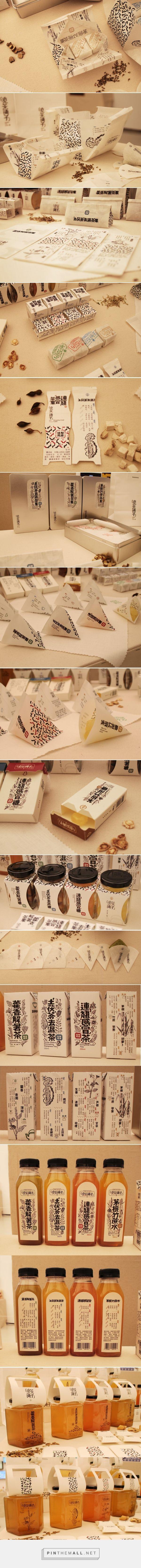 The Herbal Tea Shop packaging design by Sumin Woo - https://www.packagingoftheworld.com/2018/02/the-herbal-tea-shop.html