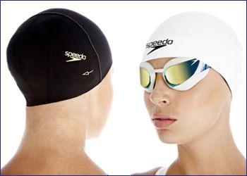 Силиконовые шапочки для бассейна.