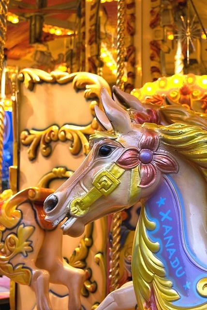 Glasgow Merry-Go-Round Fairground Ride