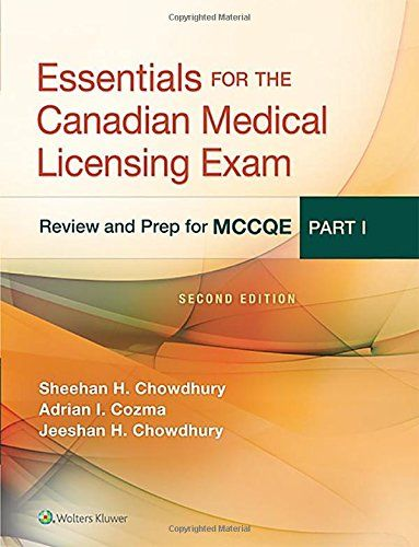 Essentials for the Canadian Medical Licensing Exam PDF – Review and Prep for McCqe, Part I ~ MEDICAL BOOKS FOR YOU