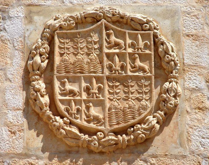 Detail from Velez Blanco castle, Almeria, Spain.