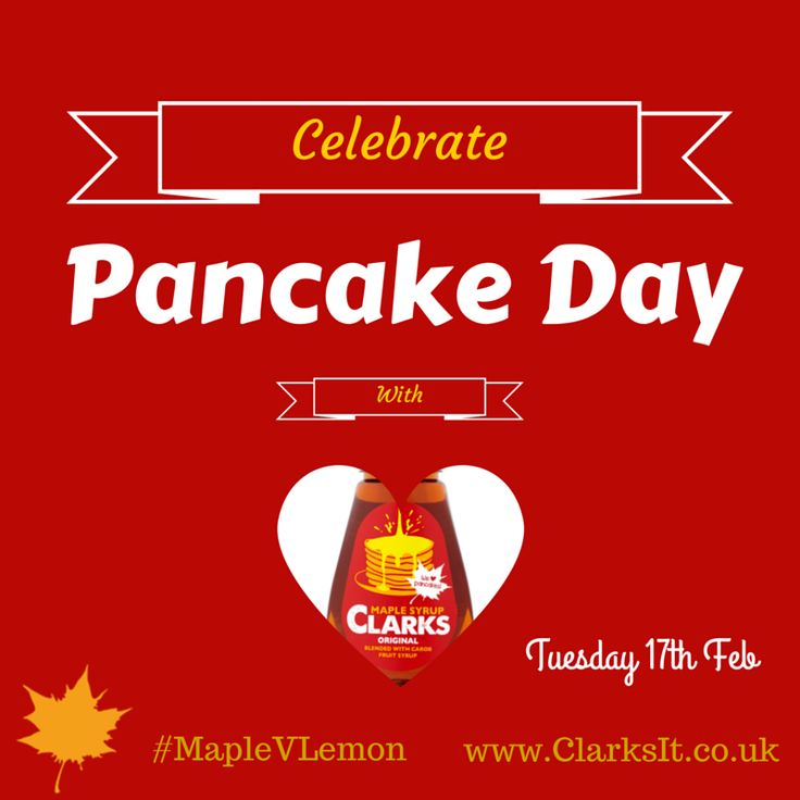 Pancake Day- Tuesday 17 th February 2015