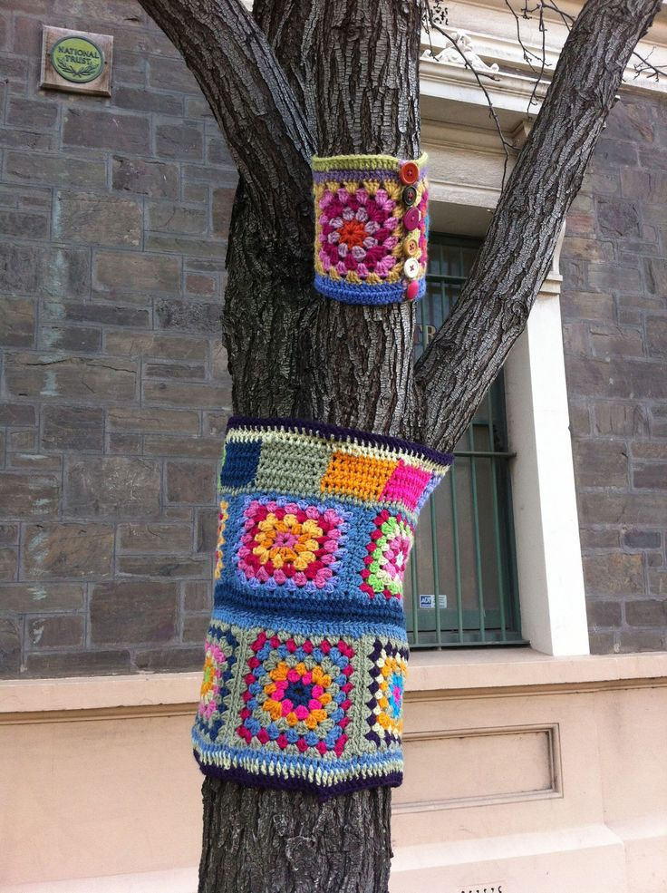 428 best images about Yarn bombing - this had to have a ...