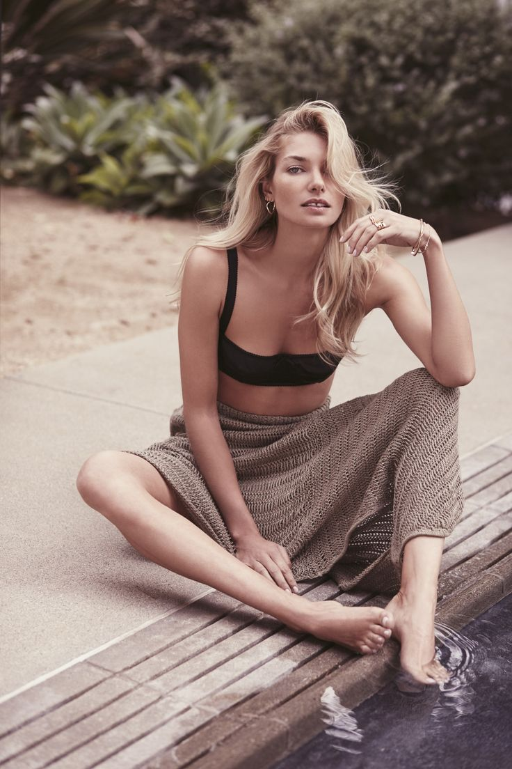Jessica Hart Takes A Break In Chloe Mallet Images For L'Officiel Switzerland — Anne of Carversville