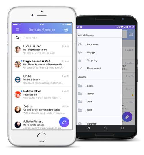 Yahoo Mail Messagerie gratuite incluant 1 To de stockage