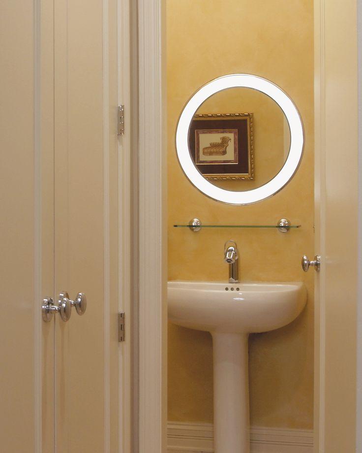 tigris mirror round by tech lighting lighting bathroom mirror