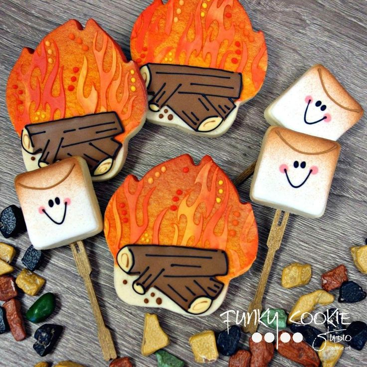 Campfire cookies by JillFCS