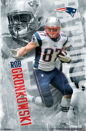 New England Patriots - Rob Gronkowski 2014 | NFL | Sports | Hardboards | Wall Decor | Pictures Frames and More | Winnipeg | Manitoba | MB | Canada
