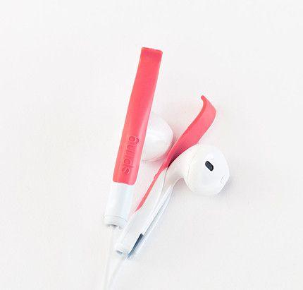 Earpods blijven beter zitten met SPRNG clips