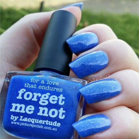 Forget Me Not from Picture Polish. #swatch