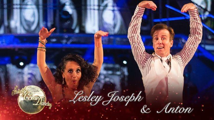 Lesley Joseph & Anton Du Beke Charleston to 'Won't You Charleston With M...