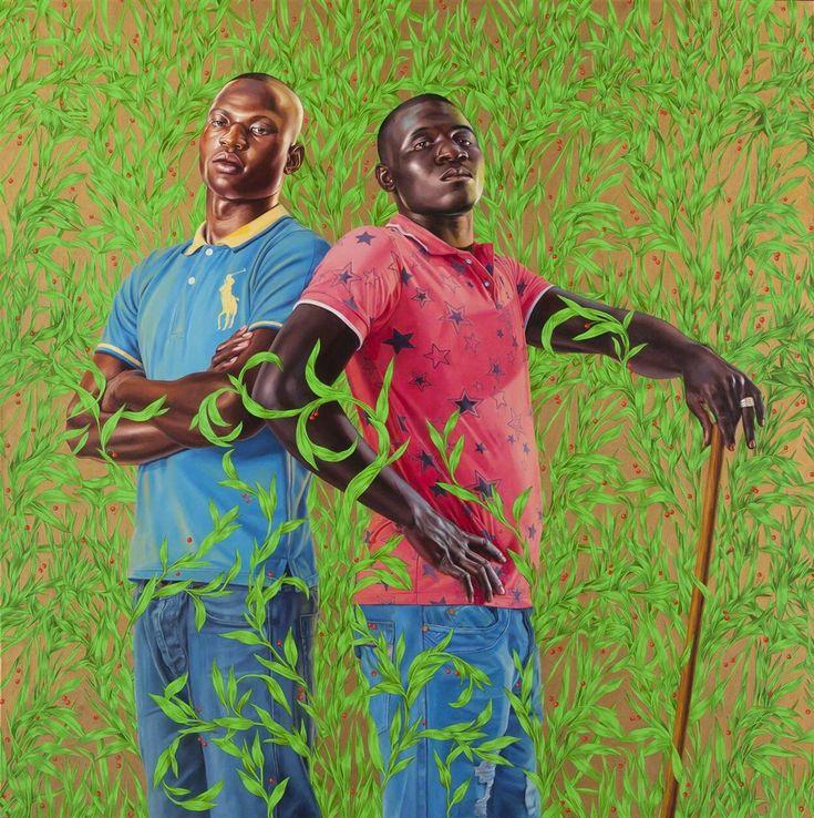 Kehinde Wiley, 'Diarra Mohamed and Mohamed Konate, Gabon', 2013