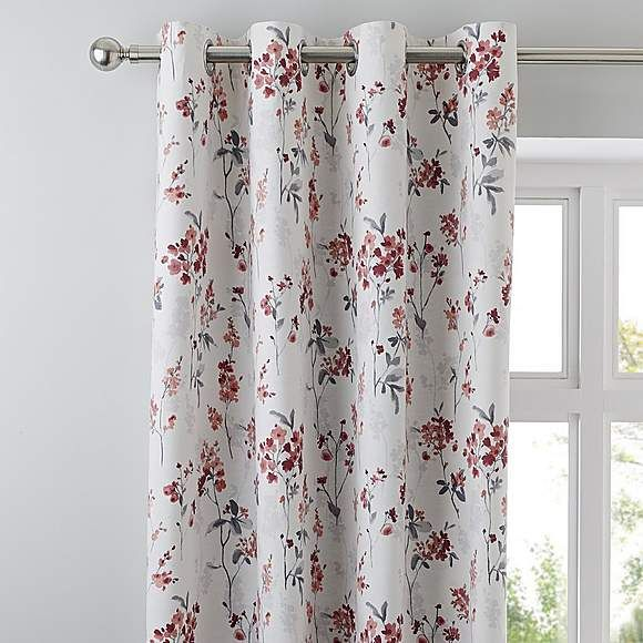 Mimosa Red Eyelet Curtains Curtains Curtains Dunelm Types Of