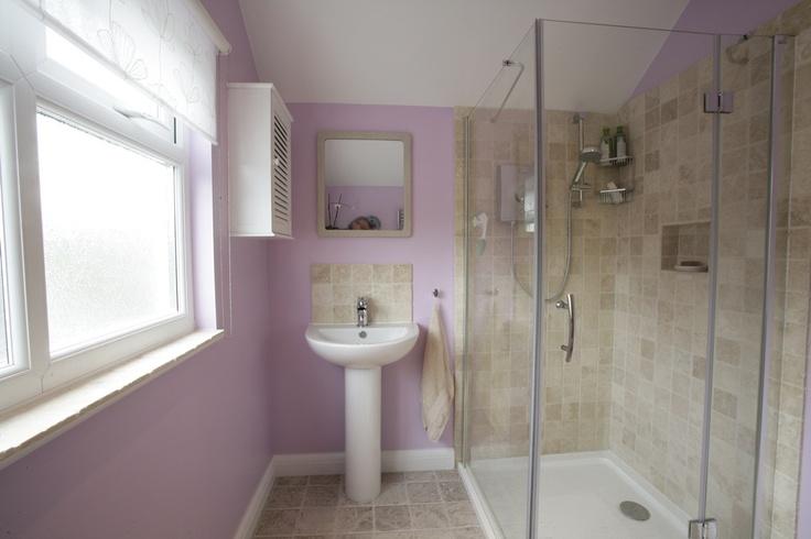 Modern loft conversion bathroom