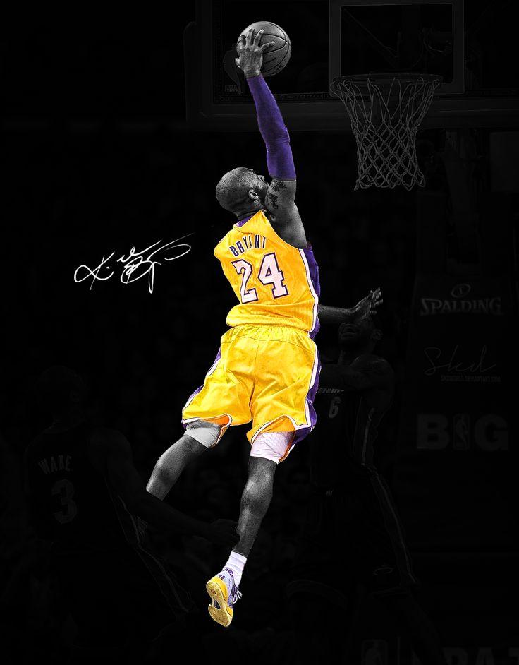 Kobe Bryant On  Lebron Hd Resolution James Dunk Wallpapers