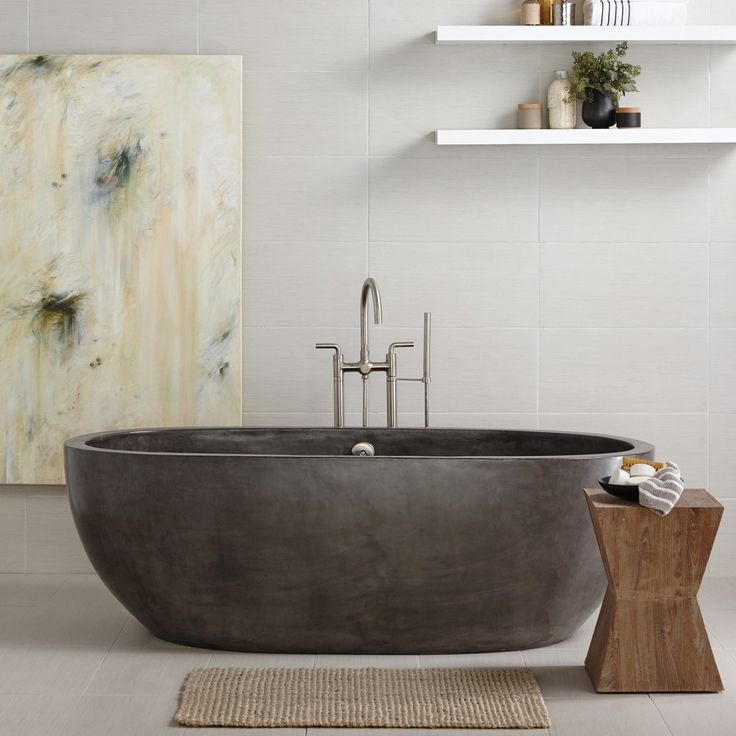 Standard Tub Size And Other Important Aspects Of The Bathroom: 17 Best Ideas About Freestanding Bathtub On Pinterest