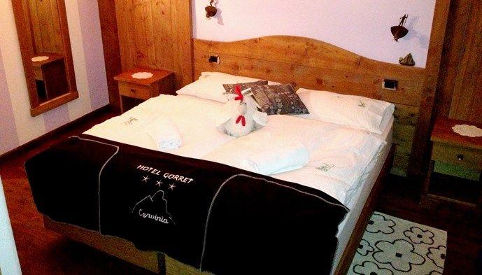 Dubbelrum hotel meubl gorret sts alpresor v ra hotell for Hotel meuble joli cervinia