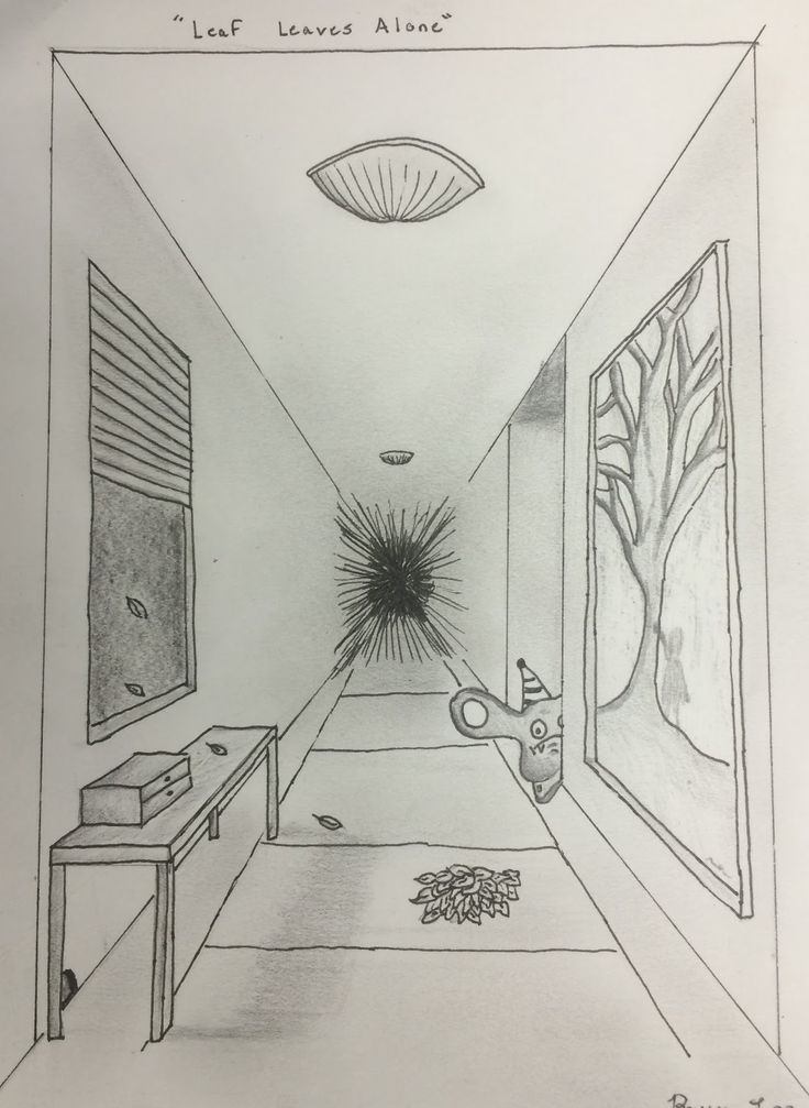 One Perspective Drawing Room: Lesson: Linear Perspective MONSTER ROOMS!