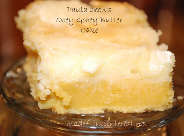 Paula deen recipes gooey pumpkin butter cake