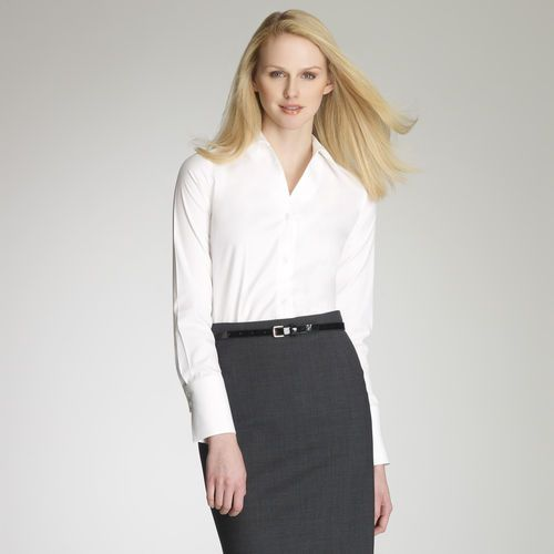 69 best women conference wear business casual images on for Business casual white shirt