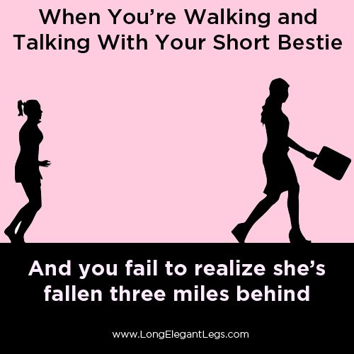 It's surprising how often this happens! #tallgirlproblems