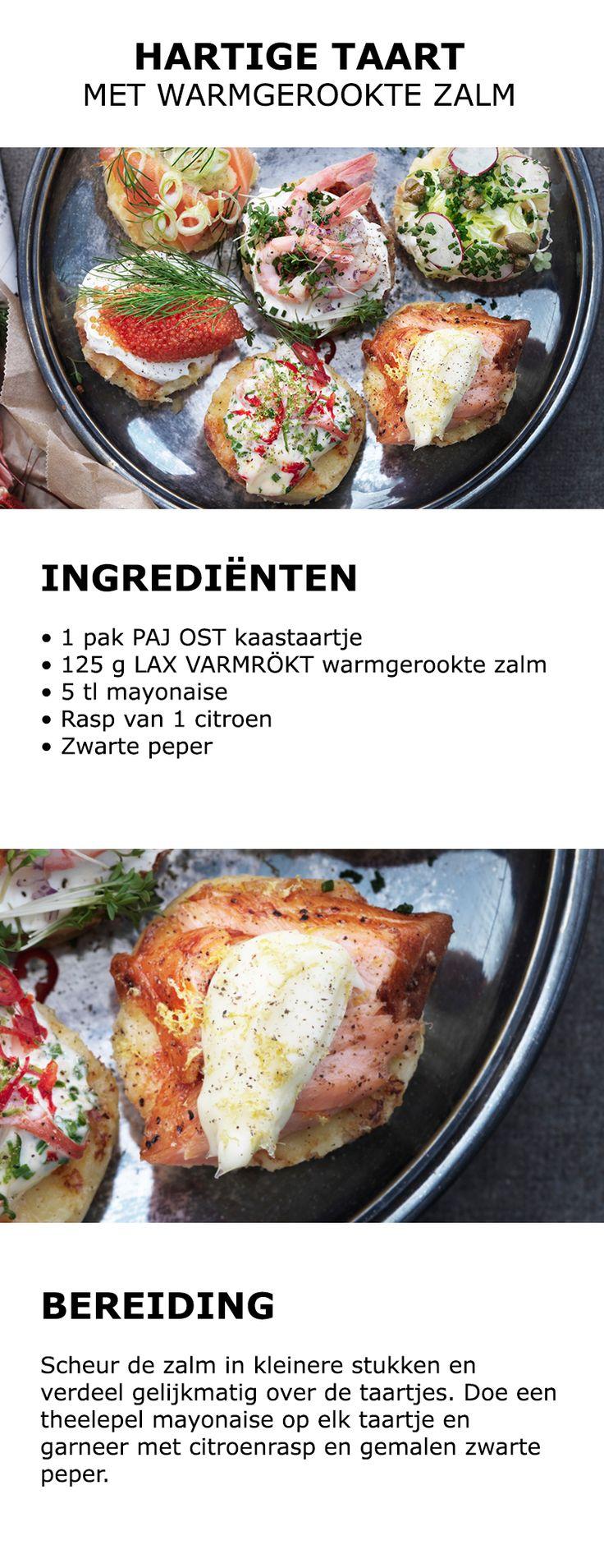 Inspiratie voor het rivierkreeftenfeest - Hartige taart met kaviaar | #IKEA…