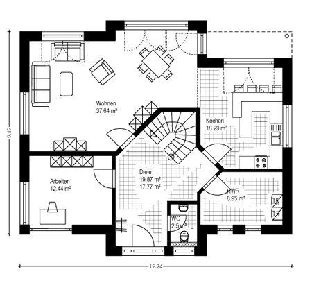 Maison préfabriquée Construction de maisons massives Lüdinghausen Senden Dülmen Selm Drensteinfurt Co …