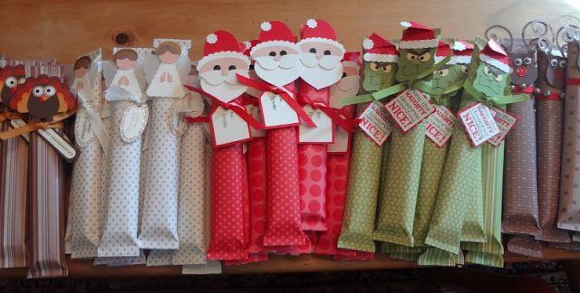 Domesblissity: 28 homemade Christmas presents for children's friends
