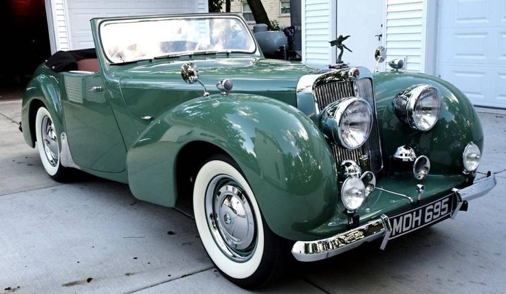 Hemmings Find of the Day  – 1949 Triumph 2000 roadster