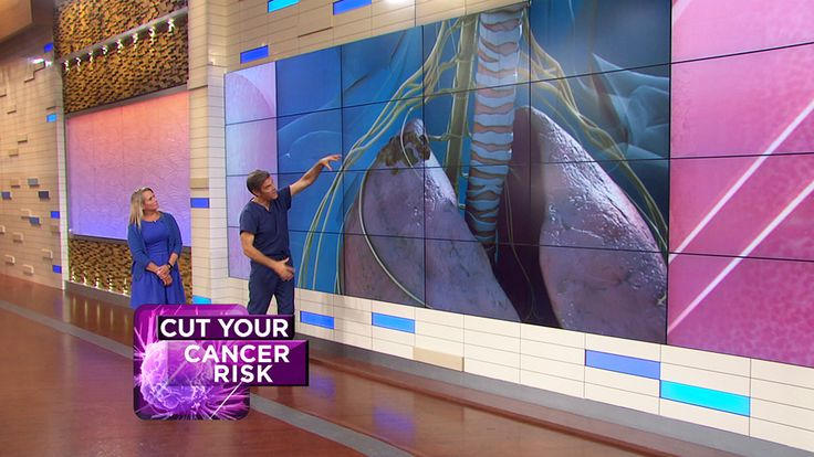 Dr. Oz explains how shoulder and back pain could be signs of lung cancer. Plus, how night sweats could be a sign of lymphoma and how to do a self-check for swollen lymph nodes.