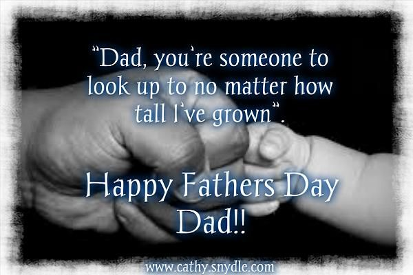 Fathers Day Quotes Cathy...