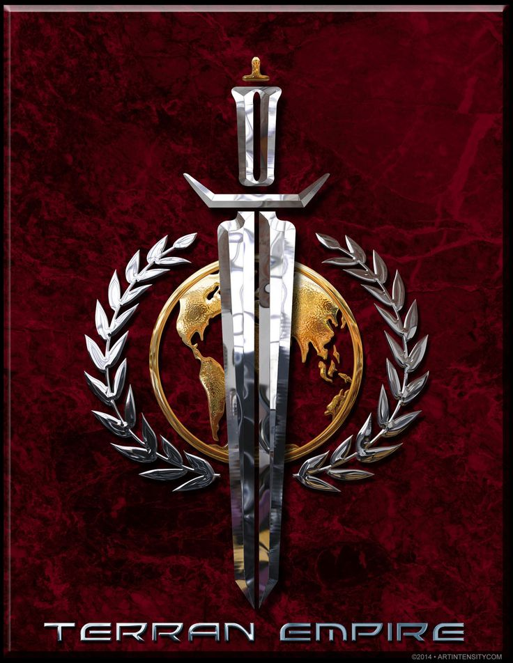 Terran Empire logo from ST:TOS Mirror Mirror universe. This logo was created by Artintensitycom