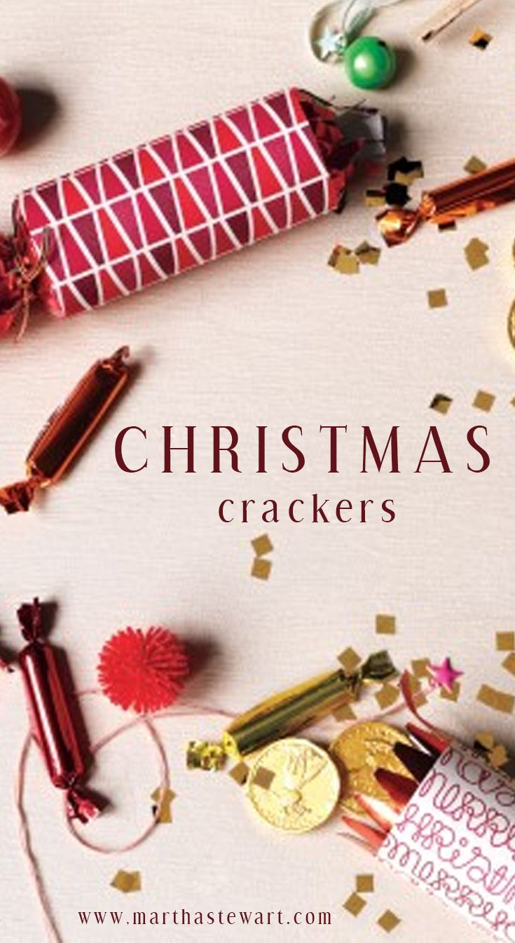 Christmas Crackers Make Your Holiday Pop With Surprises
