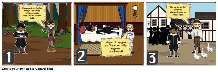 ludas matyi Storyboard by csillapflanczer